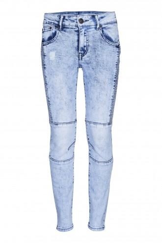 Spodnie dżinsowe z przeszyciami Rock it