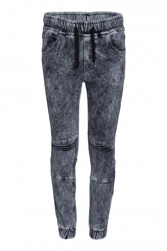 Spodnie dżinsowe joggery Black Cosmo