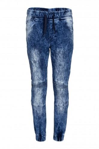 Spodnie dżinsowe joggery
