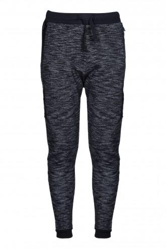 Spodnie dresowe z zamkiem na nogawkach