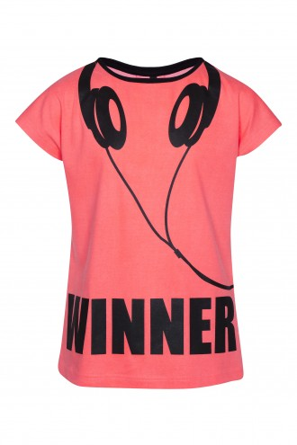 T-shirt z nadrukiem Winner