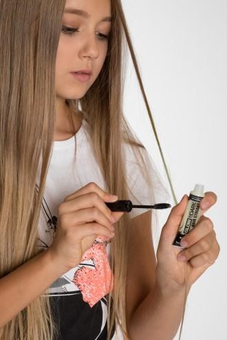 Świecący marker do włosów BIAŁY