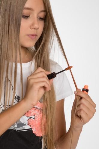 Świecący marker do włosów JASNOPOMARAŃCZOWY