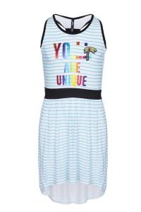 Sukienka w paski Unique