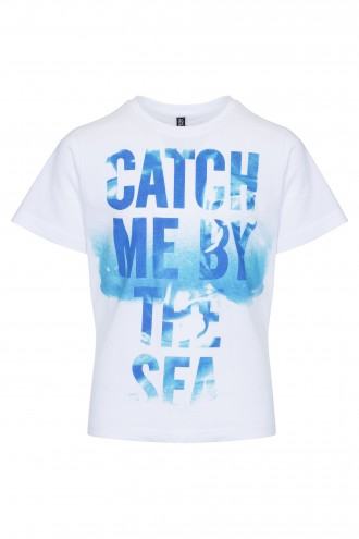 T-shirt chłopięcy z nadrukiem By The Sea