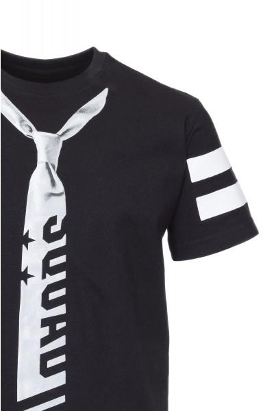 T-shirt z krawatem Black Tie