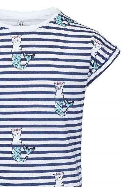 T-shirt z nadrukiem Purring Mermaids