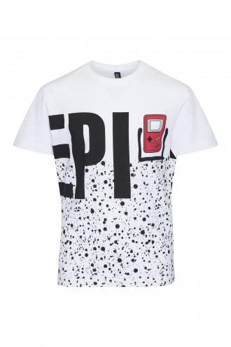 T-shirt chłopięcy z nadrukiem EPI