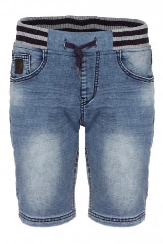 Krótkie spodenki jeansowe dla chłopaka