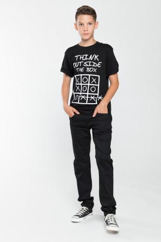 Chłopięce spodnie materiałowe Cool Boy