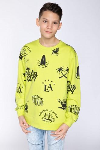 Chłopięca bluza z nadrukiem Aloha