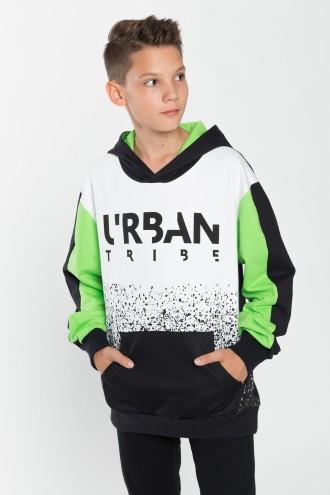 Bluza chłopięca z kapturem URBAN