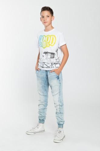 Spodnie chłopięce joggery Street Style