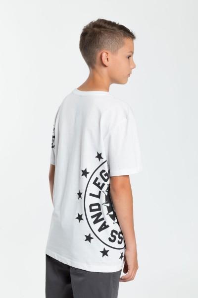 Chłopięcy T-shirt z nadrukiem Savage
