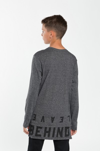 Chłopięca bluzka z długim rękawem Behind