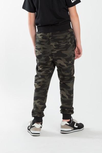 Chłopięce spodnie dresowe moro Back