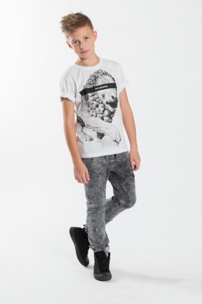Chłopięcy T-shirt z nadrukiem No Photos
