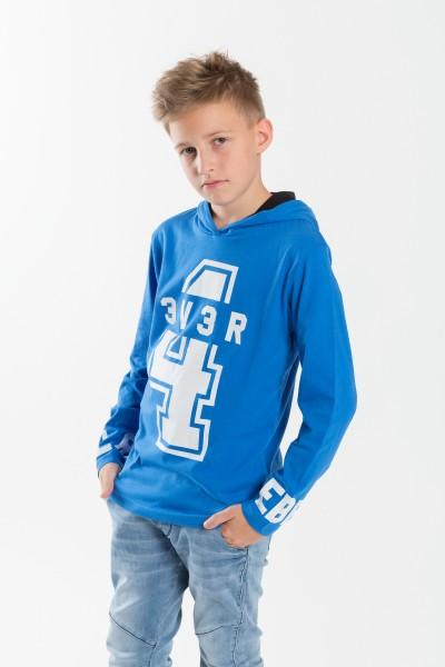 Chłopięca bluza z kapturem i nadrukiem 4Ever