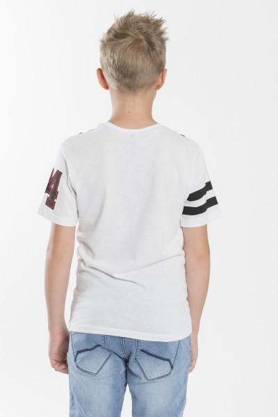 Chłopięcy T-shirt z nadrukiem Fearless Squad