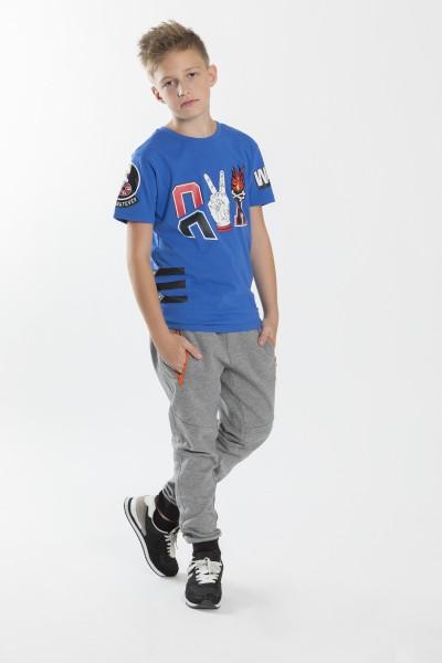 Chłopięcy T-shirt z nadrukiem Peace