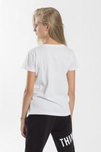 Dziewczęcy T-shirt z nadrukiem Chill