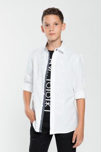 Chłopięca koszula z długim rękawem Classic