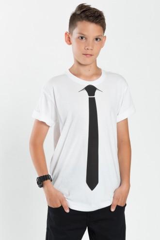 Chłopięcy T-shirt z nadrukiem Easy Tie