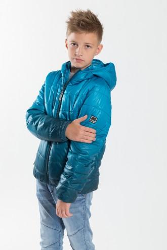 Chłopięca kurtka z kapturem Blue