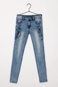 Dziewczęce spodnie dżinsowe Romance