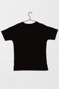 Dziewczęcy T-shirt z nadrukiem Swag