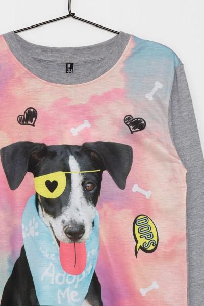 Dziewczęca bluza z nadrukiem I'm a dog