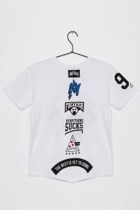 Chłopięcy T-shirt z nadrukiem Everything Sucks