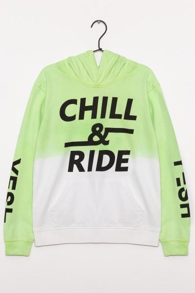 Bluza chłopięca z kapturem Chill & Ride