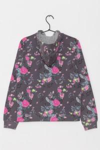 Dziewczęca bluza z kapturem Flower Power