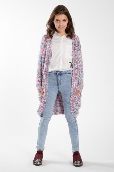 Dziewczęce spodnie marmurkowe Marble Dream