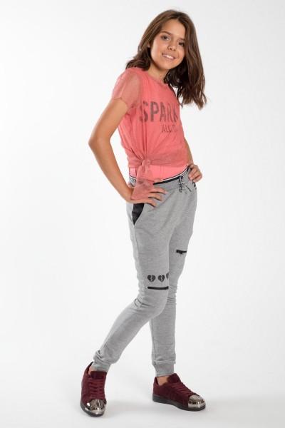 b7bc3a18fb Dziewczęce spodnie dresowe Influencer ...