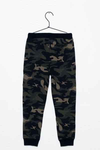Chłopięce spodnie dresowo Moro
