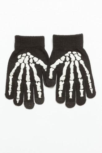Chłopięce rękawiczki SZKIELET