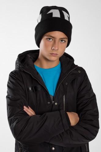 Chłopięca czapka z nadrukiem