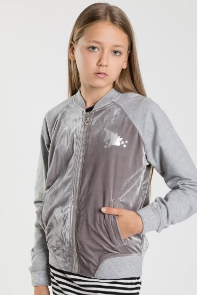 Bluza bejsbolówka dla dziewczyny