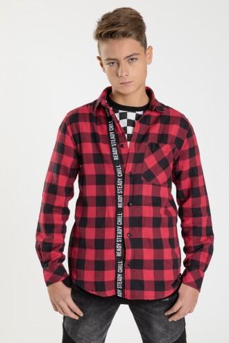 Koszula w kratę dla chłopaka THE RED