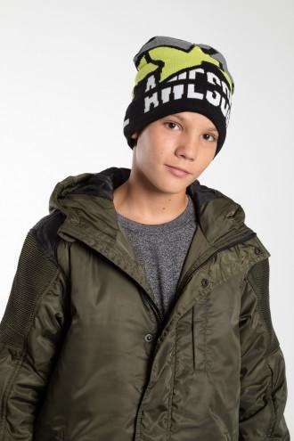 Kolorowa czapka dla chłopaka AWSOME