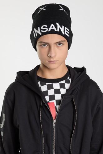 Czarna czapka dla chłopaka INSANE