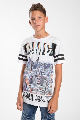 T-shirt dla chłopaka z nadrukiem OMG