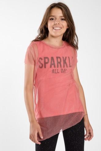 T-shirt dla dziewczynki SPARKLE