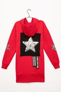 Czerwona bluza Gwiazd
