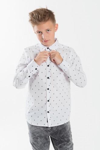 Biała koszula dla chłopca