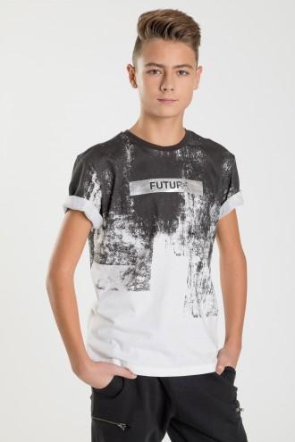 T-shirt dla chłopca FUTURE