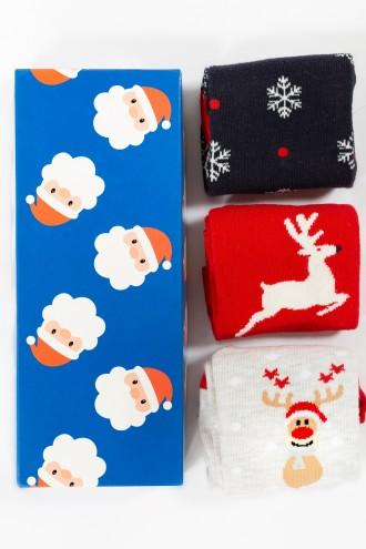 Skarpety świąteczne SANTA