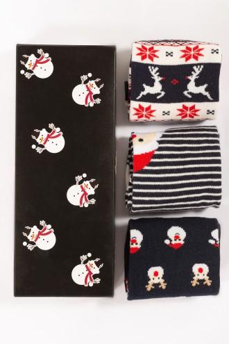 Skarpety świąteczne SNOWMAN